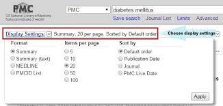 PMC Help   NCBI Bookshelf
