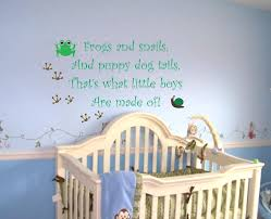 baby boy saying quote wall decal frogs and snails nursery vinyl baby boy saying quote wall decal frogs and snails nursery vinyl sticker decor