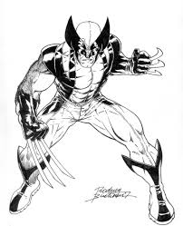 15 wolverine coloring pages for kids u2013 sharp claws x men print