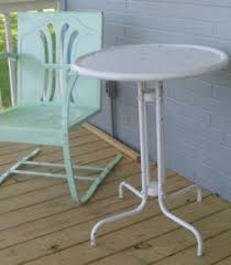 origin and history of metal vintage patio and porch glider