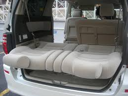 the eight seaters story toyota alphard folding the 3rd row seats