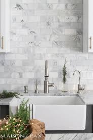 Best  Marble Tile Backsplash Ideas That You Will Like On - Carrara tile backsplash