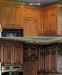 Kitchen Cabinets Stain To Faux Or Not To Faux Which Is Better Curbly