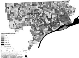 Detroit Michigan Map by Planning For Climate Change In Legacy Cities The Case Of Detroit
