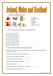 Halloween Quiz Printable by 22 Free Esl Wales Worksheets