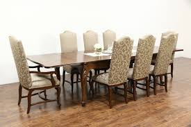 Retro Dining Room Set Sold Country French Carved Cherry Vintage Dining Table Extends