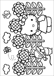 25 kitty colouring pages ideas
