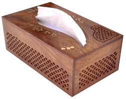 wall mounted kleenex holder rectangular wooden tissue box cover dispenser with decorative