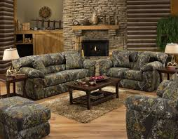 Living Room Bench by Camo Living Room Ideas Realtree Set Off Road Tan Suede Upholstered