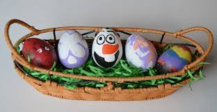 disney easter egg decorating ideas for kids q tip painting and