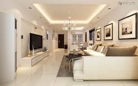 Home Interiors Photos False Ceiling Design Small Apartment Room Interior Flat Screen