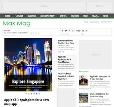download maxmag responsive blogger templates free download full