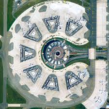 Charles De Gaulle Airport Map Paul Andreu Charles De Gaulle Szenographie Architecture