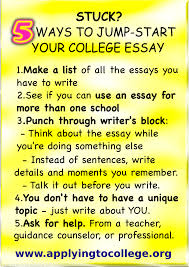 Writing a good admissions essay   Custom paper Help