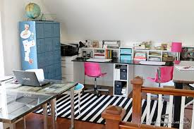 The Craft Room And Home Office Are Done Finding Home Farms - Family room office