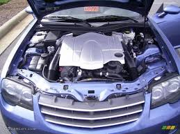 2005 chrysler crossfire limited roadster 3 2 liter sohc 18 valve