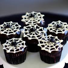 Halloween Cakes Easy by Spider Cupcakes Simply Sated