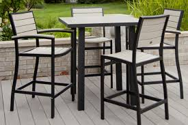 Black Wrought Iron Patio Furniture Sets by Patio High Top Patio Table Set High Top Chairs Outdoor Outdoor