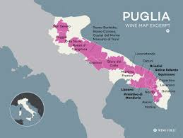 Map Of Italy Regions by