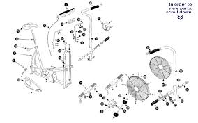 airdyne main frame parts schwinn airdyne exercise bike airdyne