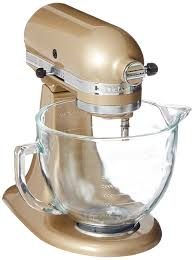Kitchenaid Stand Mixer Sale by Amazon Com Kitchenaid Ksm155gbcz Artisan Design Series Glass Bowl