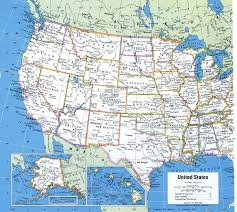 States Of United States Map by United States Map