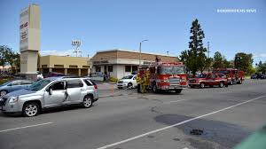 lexus service woodland hills ca los angeles city firefighters had to use the jaws of life to save