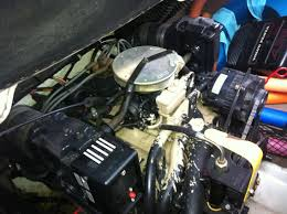 2000 volvo penta 4 3 gl spewing water and oil from top of engine
