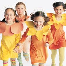 Halloween Costumes For Families by Family Costumes Flower Bouquet Martha Stewart