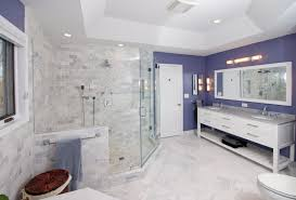 Small Master Bathroom Design Ideas Colors Two White Drop In Sinks Bathroom Remodel Gray Textured Ceramic