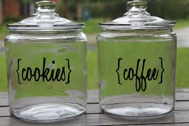 Glass Canisters For Kitchen Carolina Charm Diy Kitchen Canisters
