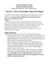 conclusion to college essay examples Free Essays and Papers