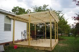 Deck Pergola Ideas by Pergola Posts On Deck Pergola On Deck Decorating Ideas