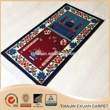Islamic Prayer Rugs Wholesale Beautiful Design Of Muslim Prayer Mat Made In China Buy Muslim