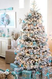 Christmas Home Decorations Pictures Blue Christmas Decorating Ideas A Tour Of Our Home Blue