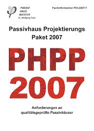 PHPP - Programma di calcolo energetico per la Casa Passiva