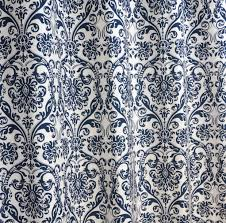 108 Inch Long Blackout Curtains by Amazon Com Navy Blue And White Damask Drape One Rod Pocket
