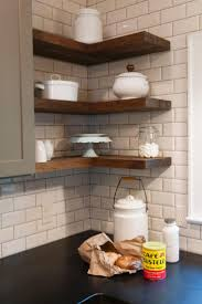 Kitchen Cabinet Top Decor by Best 10 Corner Shelves Kitchen Ideas On Pinterest Corner Wall