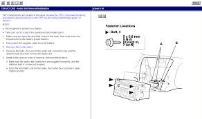 98 honda accord battery terminals owners manual to get radio code