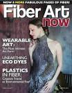 Sentimental Pentimento: Coming soon!! Summer issue of Fiber Art Now