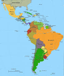 Map Of South America And Caribbean by Islam In Caribbean Central And South America