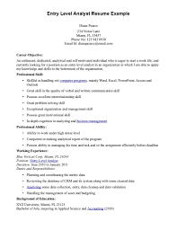 Resume Sample  Example of Business Analyst Resume Targeted to the     An Expert Resume