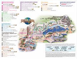 Orlando Florida On Map by Universal Studios Park Map My Blog
