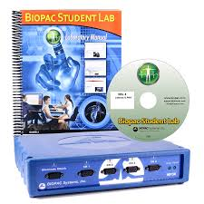 biopac student lab advanced system win bsladv w bsladv m