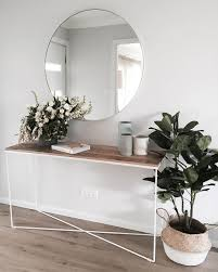 White Entryway Table by Catherine Heraghty Sydney Interior Designer Stylist Hello