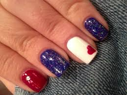 patriotic 4th of july nails fun with polish pinterest nail