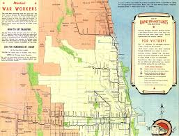Chicago On The Map by Chicago U0027 U0027l U0027 U0027 Org System Maps Route Maps