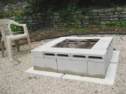 Ideas For Fire Pits In Backyard by Best 25 Cinder Block Fire Pit Ideas On Pinterest Cinder Block