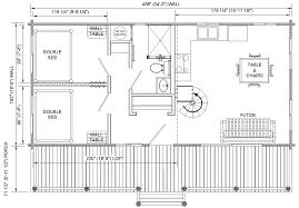 floor plans for cabins 16 u0027x34 u0027 with loft plus 6 u0027x34 u0027 porch side