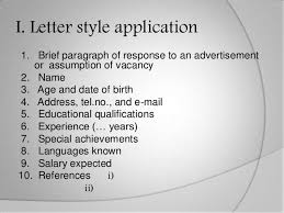 Example Of Job Letter For Application   Cover Letter Templates   application examples